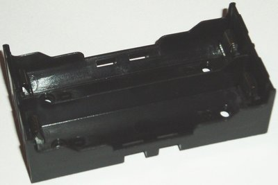 Battery Holder 2x18650 PCB pins