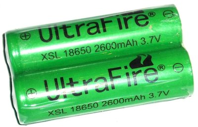 Oplaadbare batterijen 18650