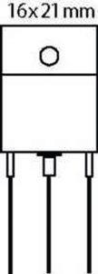 Transistor P-FET 200 VDC 12 A 150W