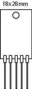 Spanningsregelaar 114.5 VDC 27 W