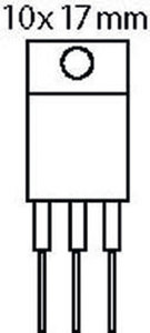 Thyristor 600 VDC 16 A TRIAC 50/100mA