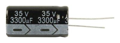 Elektrolytische Condensator 3300 uF 35 VDC