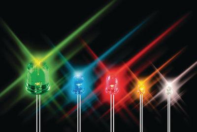 LED 5 mm 10000 mcd Rood