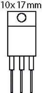 Transistor N-FET 600 VDC 10 A 115W 0.75R