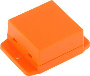 Kunststof behuizing 50 x 50.4 x 27 mm Oranje ABS IP00
