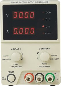 Laboratoriumvoeding 1 Ch. 0...30 VDC 5 A